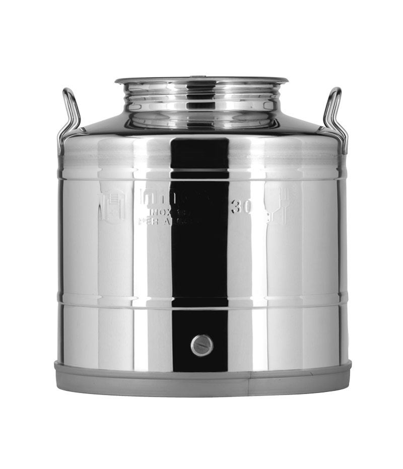 Containers and barrels for stainless steel certified NSF – Oliday Line