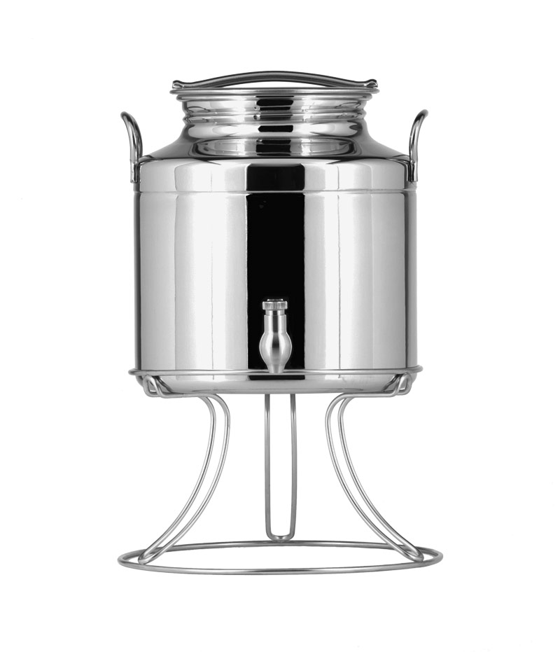 Stainless steel oil containers and barrels – Oliday line
