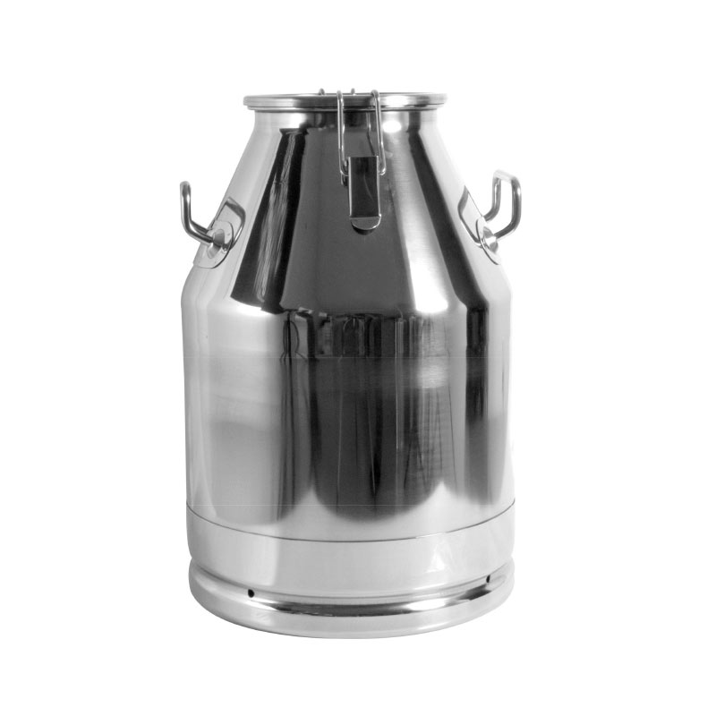 Stainless steel milk barrels