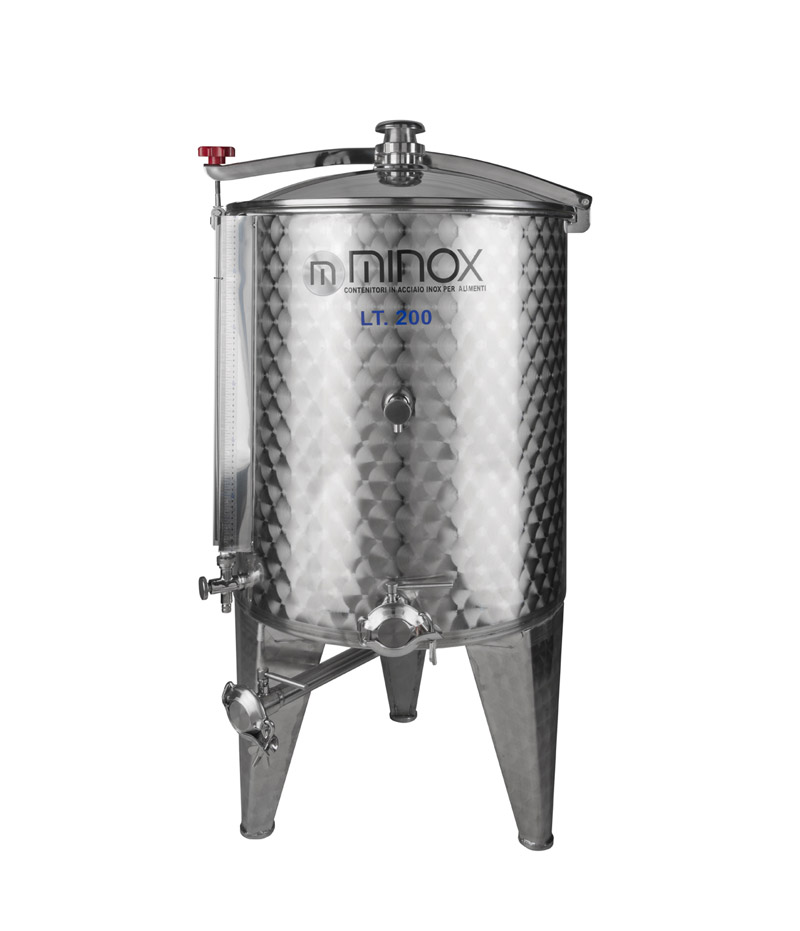 Combo conical bottom wine tanks