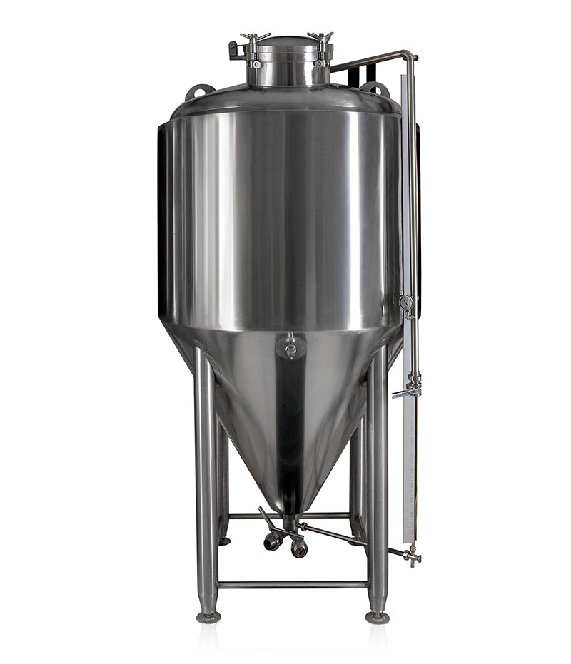 Stainless steel isobaric beer fermenter